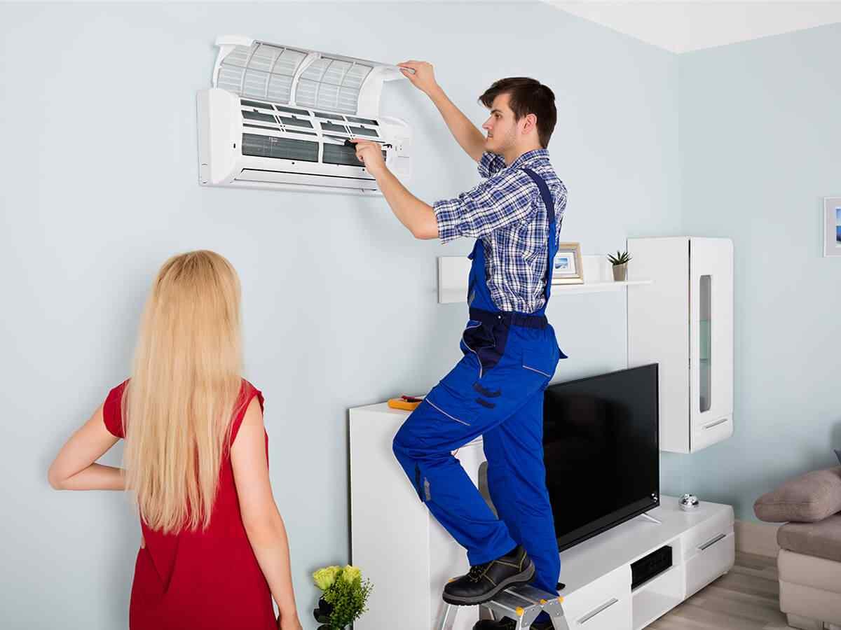cara servis aircond rumah